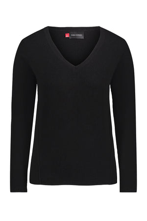 Quintessential Cashmere V Neck - Personalized Thumbnail