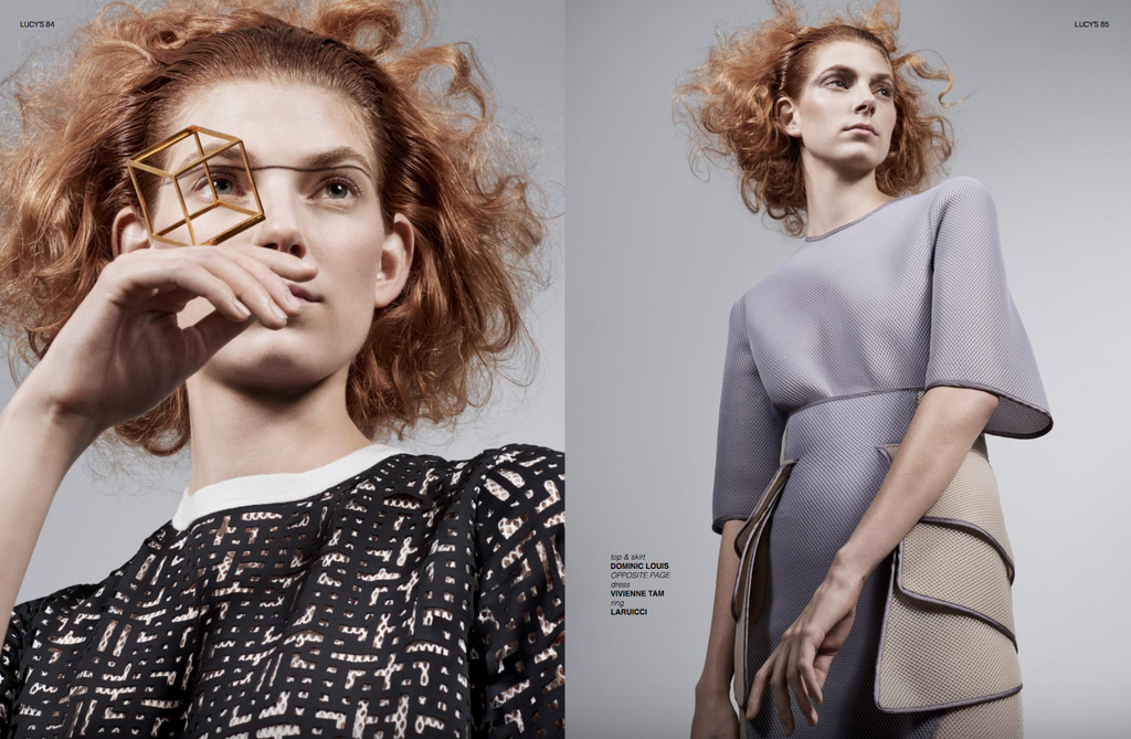 TRIPTYCH FOOTWEAR in LUCY'S Magazine EDITORIAL
