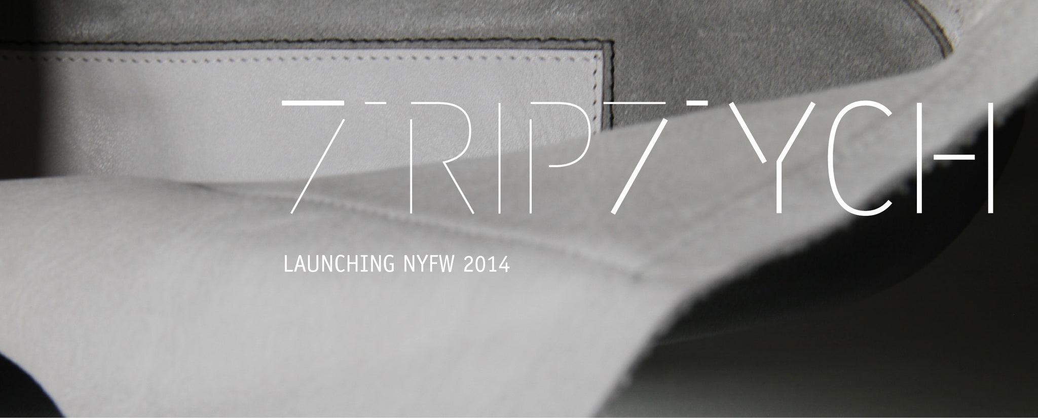 TRIPTYCH brand launch invitation