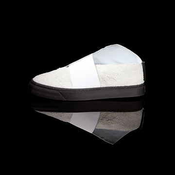 K1 / TIBET WHITE / UNISEX LEATHER SNEAKER