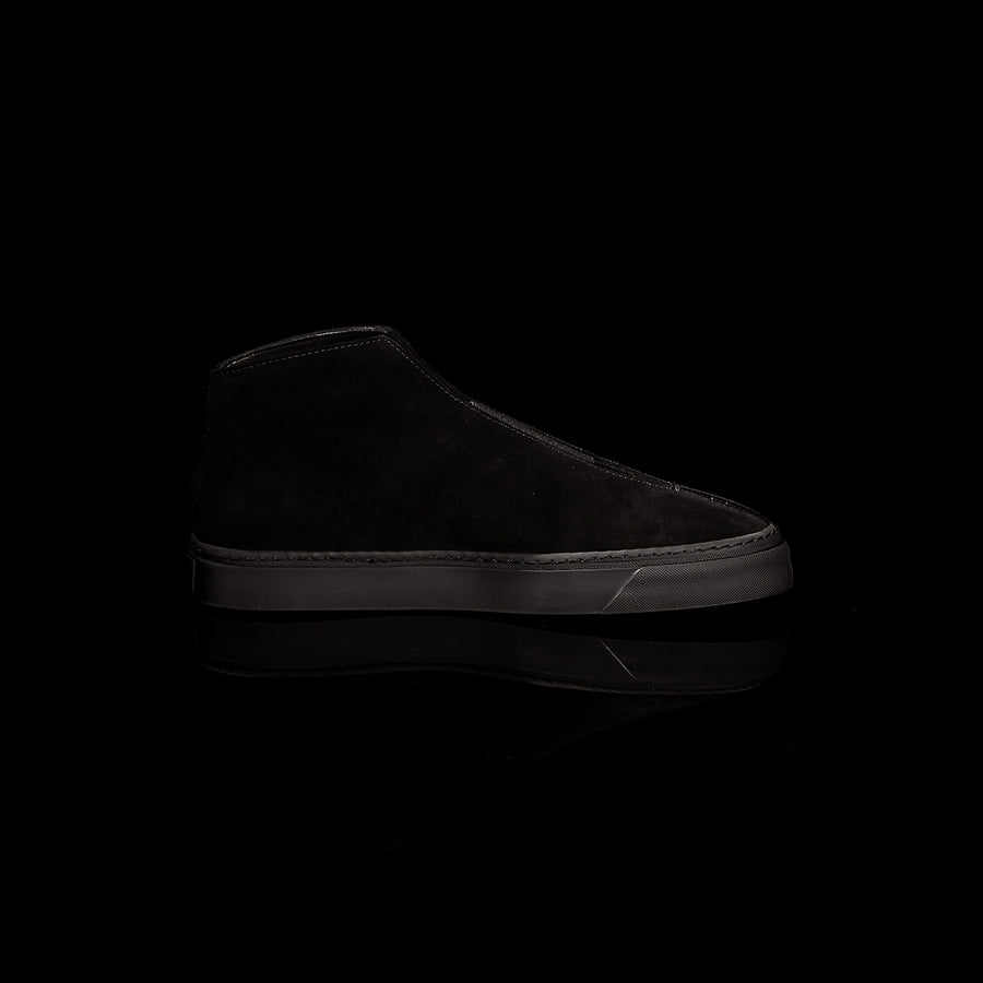 K3 / ALL BLACK / UNISEX LEATHER SNEAKER