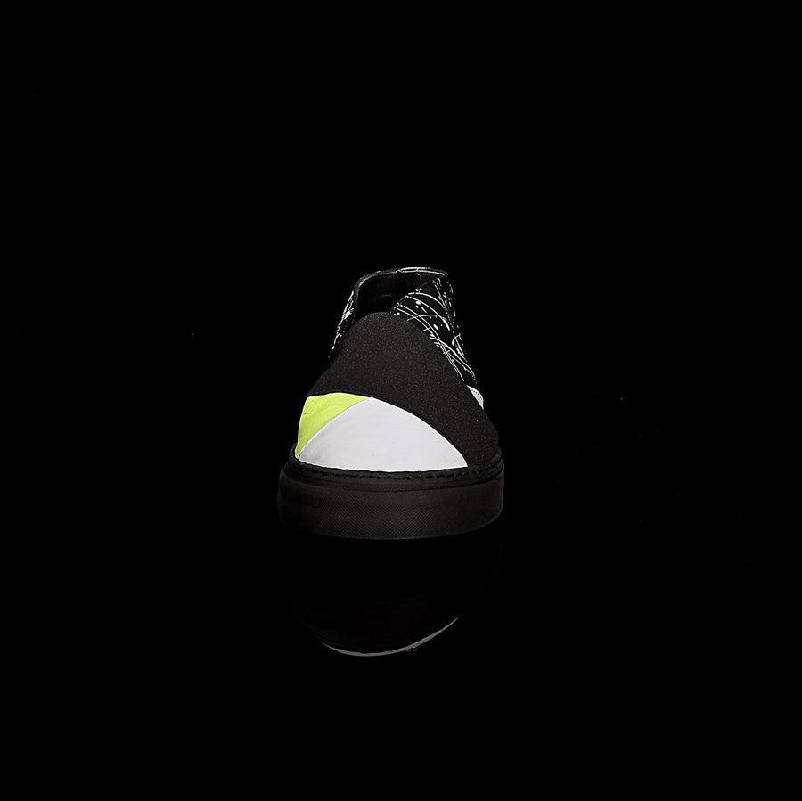 K4 / NEON PAINTER / *LIMITED EDITION* UNISEX LEATHER SNEAKER