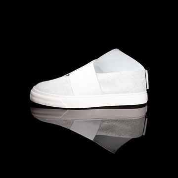 K1 / ALL WHITE / UNISEX LEATHER SNEAKER
