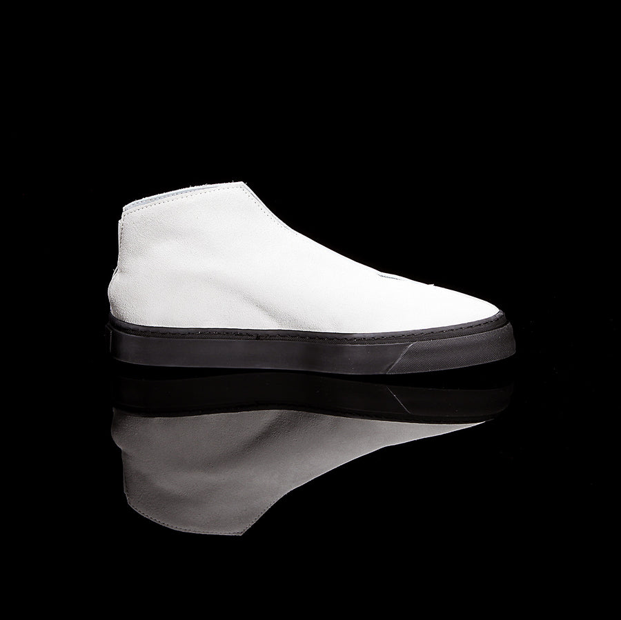 K3 / CHALK / UNISEX LEATHER SNEAKER