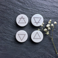 "The Elements Plugs - 2g (6.5mm) through 1"" (25mm)"