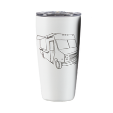 Load image into Gallery viewer, White Clover Food Truck Tumbler