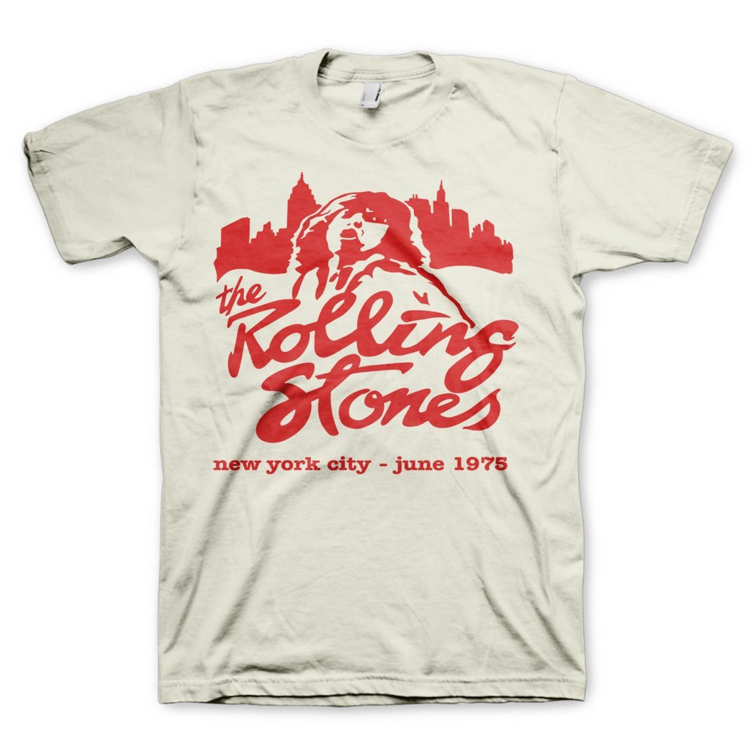 Rolling Stones | Mick June 1975 Nyc T-Shirt - The Read and Shade Store