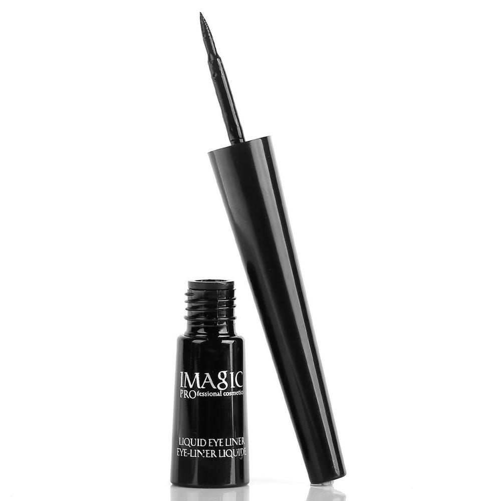 IMAGIC 1PCS Pro Eyeliner Waterproof Liquid Type Makeup Eye Liner Nature Long Lasting - The Read and Shade Store