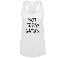 Load image into Gallery viewer, Not Today Satan T Shirt - The Read and Shade Store