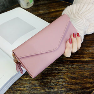 Women Wallets Multifunction PU Leather Women's Long Design Purse Female Card Holder Long Lady Clutch Purse - The Read and Shade Store