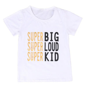 New Family Match Clothes Summer Short Sleeve T-shirt Tops Women Kids Girls Boys Tshirt Baby Outfit Cotton Clothing - The Read and Shade Store