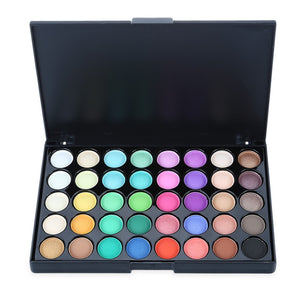 40 Colors Eye Shadow Earth Color For Daily & Evening & Smoky Makeup - The Read and Shade Store