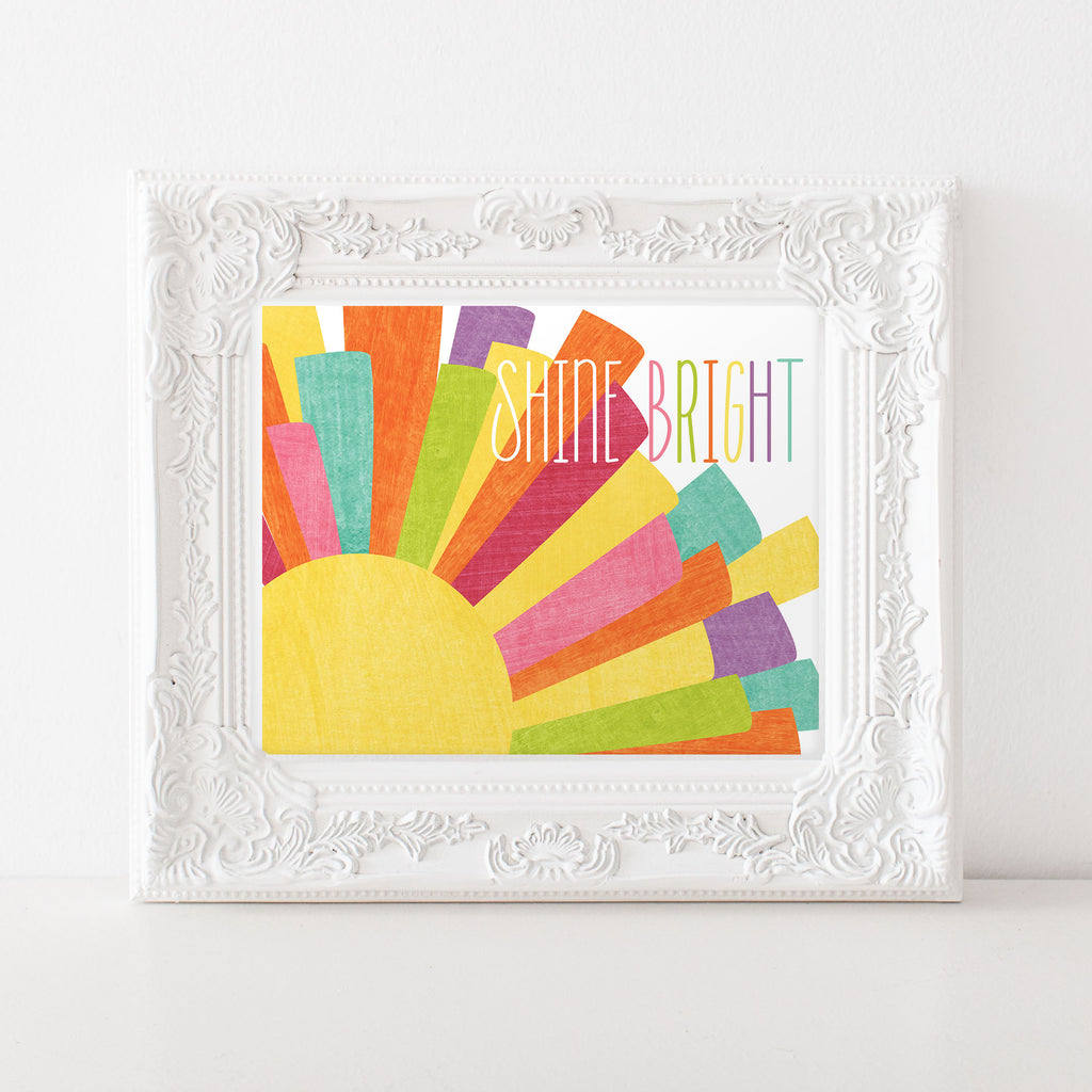 Need some FREE sunshine? Grab our free art print.