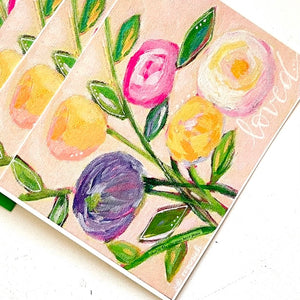 So Loved Pastel Floral Note card
