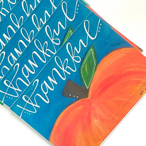 Thankful Pumpkin Note Card