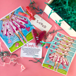 Brave Girl Sisterhood Subscription Box: February edition. Girls Bible Study Monthly gift box.