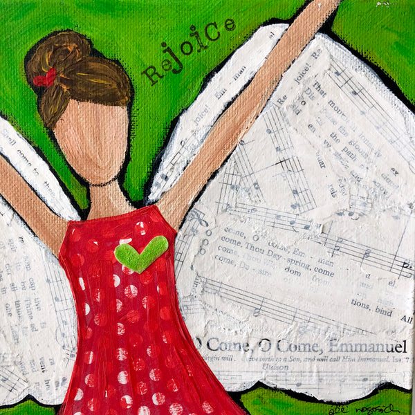 Original Angel Paintings on canvas