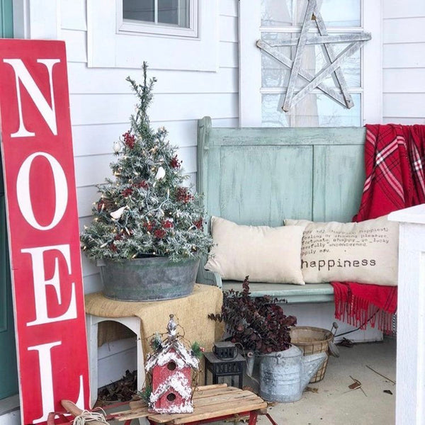Christmas Porch Sign, Noel sign, Large Welcome sign, Front Porch Decor, Outdoor Merry Christmas Sign, 5 ft tall extra large custom sign