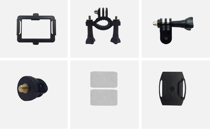 AC10 Action camera mounting accessories