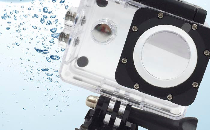 AC10 Action camera waterproof housing