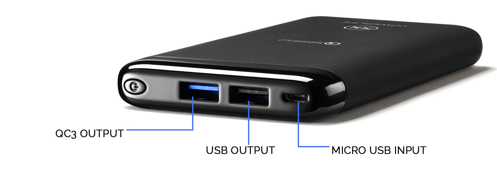 C10 power bank ports