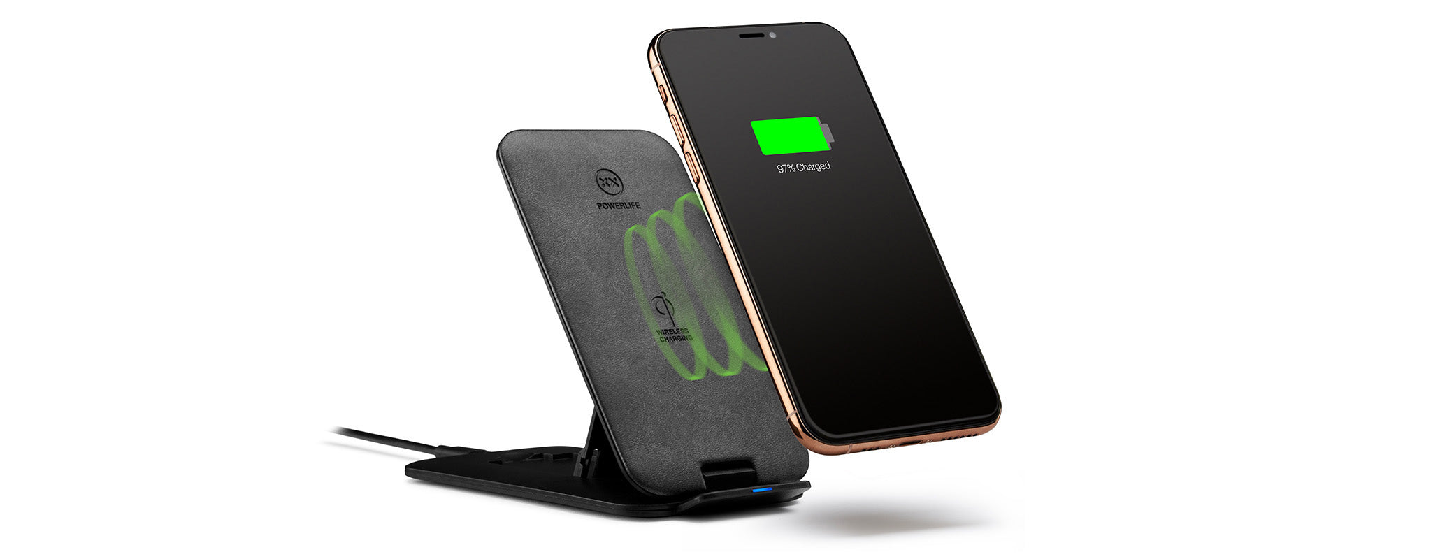 Chargestand wireless charger for iPhone XS