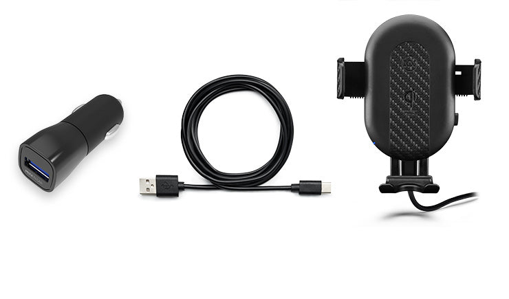 DashCharge long arm wireless car mount technical specifications