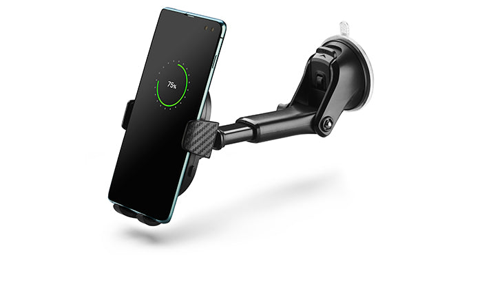 DashCharge long arm wireless car mount for Samsung phones