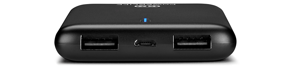 Power Up 2 power bank USB ports