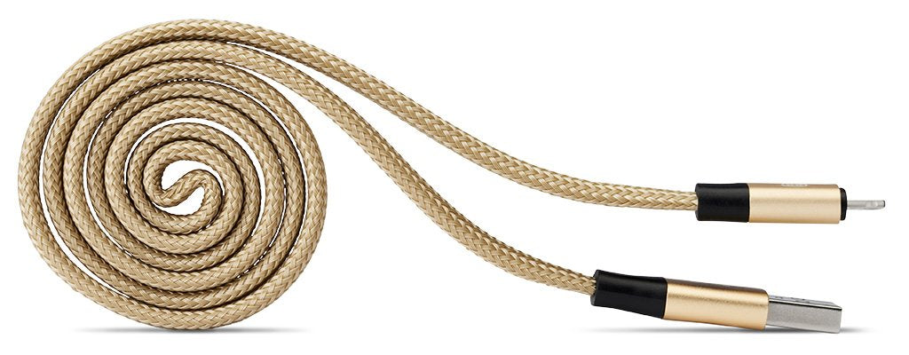 USB to lightning self coil cable for iPhone