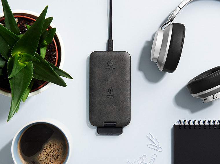 Chargestand wireless charger on desk