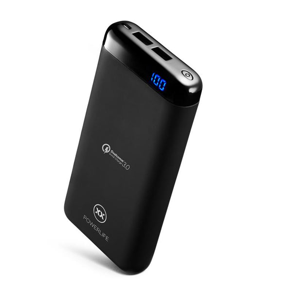 C15 power bank 15000mAh right lean view