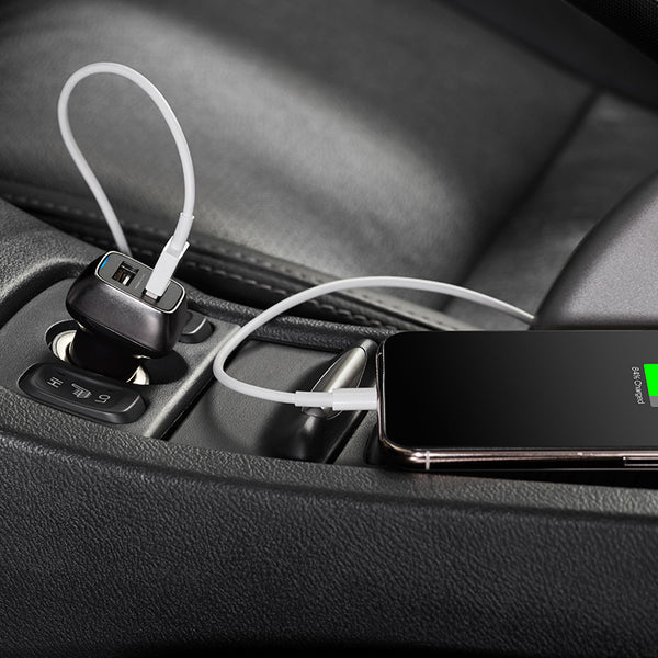 Car charger for smartphones