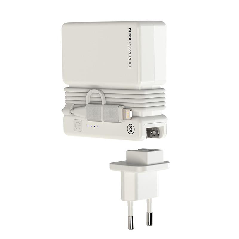 FLX Charge European travel adapter