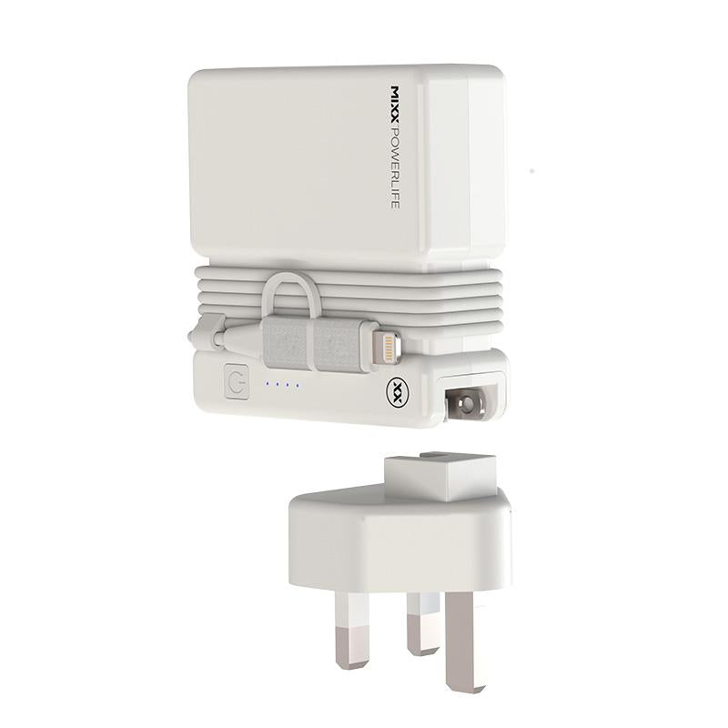 FLX Charge UK travel adapter
