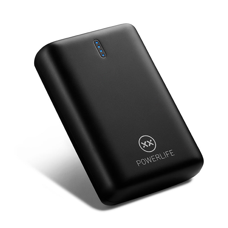 PowerUp 4 power bank leaning back