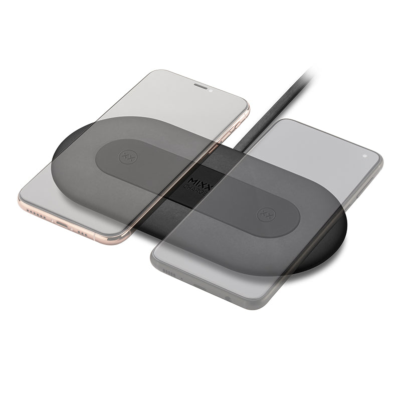 Wireless charger ChargeSpot Duo for Qi smartphones