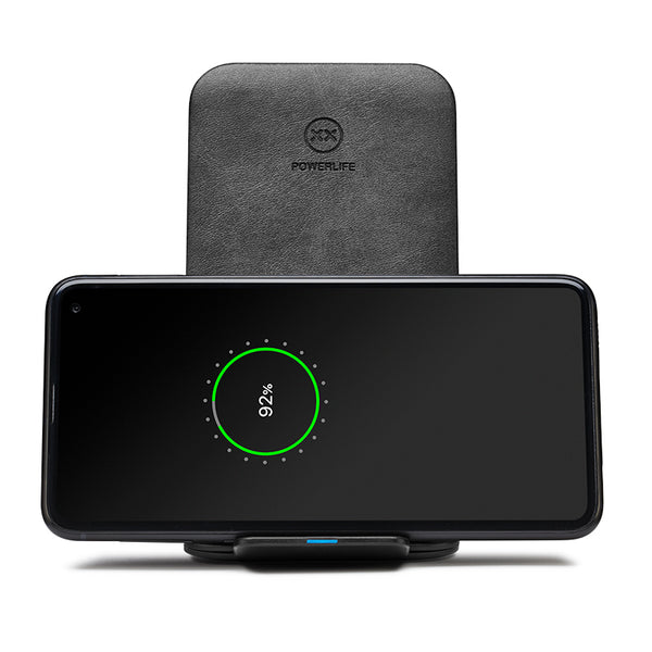 ChargeStand wireless charger for Samsung S10 landscape view