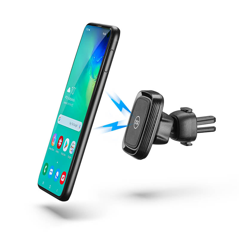 Magnetic car mount for Samsung phones