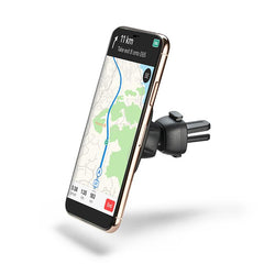 Magnetic car mount for iPhone