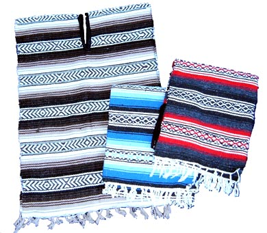 Mexican Poncho Triple Pack!