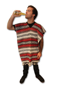 Mexican Poncho Twin-Pack!