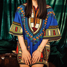 Load image into Gallery viewer, Tradional Boho Mexican Dress