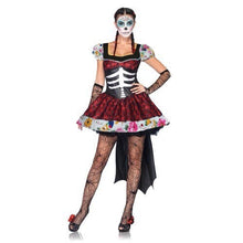 Load image into Gallery viewer, Day of the Dead Zombie Ghost Costume