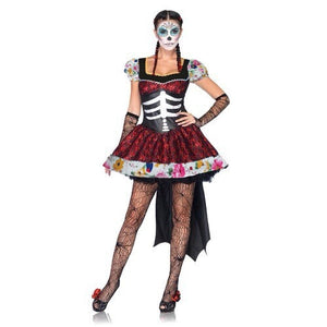 Day of the Dead Zombie Ghost Costume