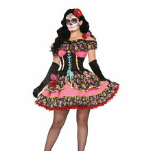 Load image into Gallery viewer, Day of the Dead Senorita Dress