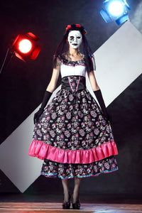 Day of the Dead Senorita Dress