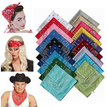 Load image into Gallery viewer, Unisex Cotton Bandana