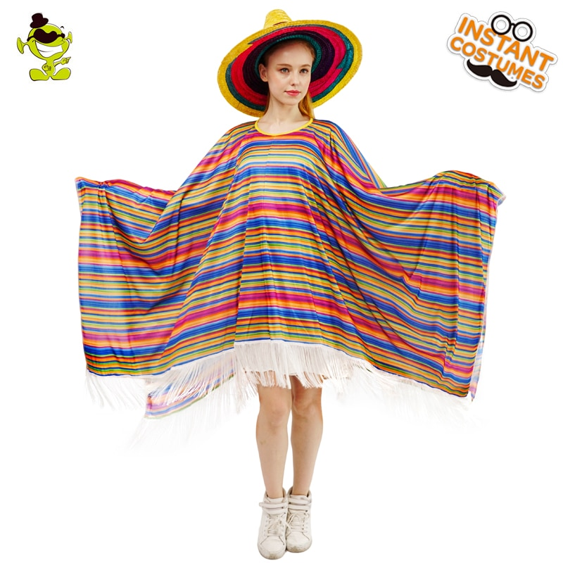 Colourful Mexican Cloak