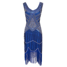 Load image into Gallery viewer, Sequined Great Gatsby Dress